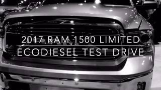 2017 RAM 1500 Limited EcoDiesel Test Drive