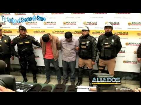 Policías Y Serenazgo De Surco Capturan Avezados Delincuentes Tras Tenaz Persecución Y Balacera