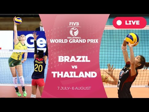 Brazil v Thailand - Group 1: 2017 FIVB Volleyball World Gran