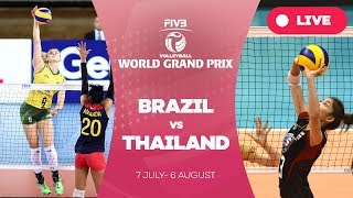 Brazil v Thailand - Group 1: 2017 FIVB Volleyball World Grand Prix