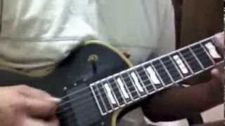 trivium - A gunshot to the head of trepidation guitar (Solo Cover)
