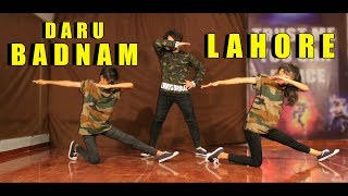 Daru Badnam VS Lahore Dance | Vicky Patel Choreography | Easy Bollywood Hip Hop