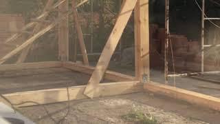 видео Строительство веранды на даче своими руками