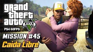 【GTA 5 100%】 Mission 40 - Caida Libre - Walkthrough Part 78 [GOLD MEDAL]