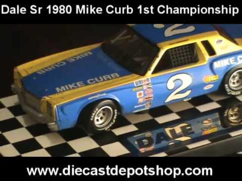 Dale earnhardt sr 1980 mike curb 2 1 24 action youtube - Diecastdepotshop ...