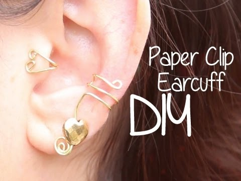 Paperclip Ear Cuff Diy