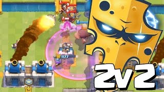 Repeat youtube video PARTIDAS 2v2 EN TEAM QUESO   Clash Royale con TheAlvaro845   Español