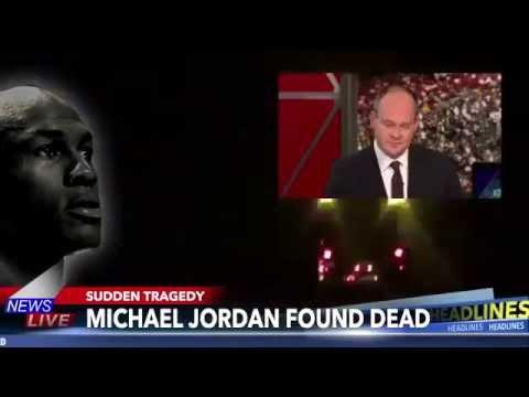 Michael Jordan found dead Earlier This