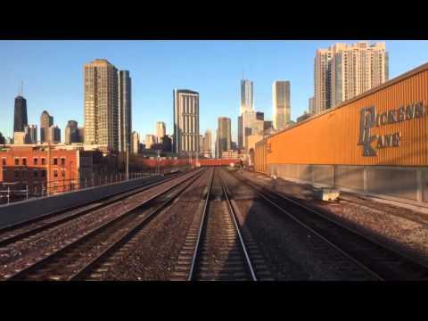 Metra Union Pacific West Elmhurst to Chicago