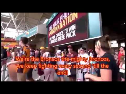 Brisbane Broncos theme  song