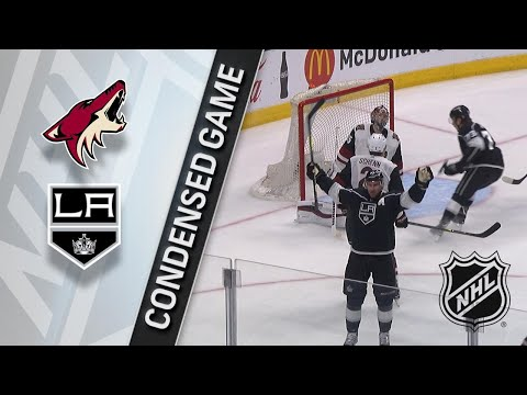 03/29/18 Condensed Game: Coyotes @ Kings
