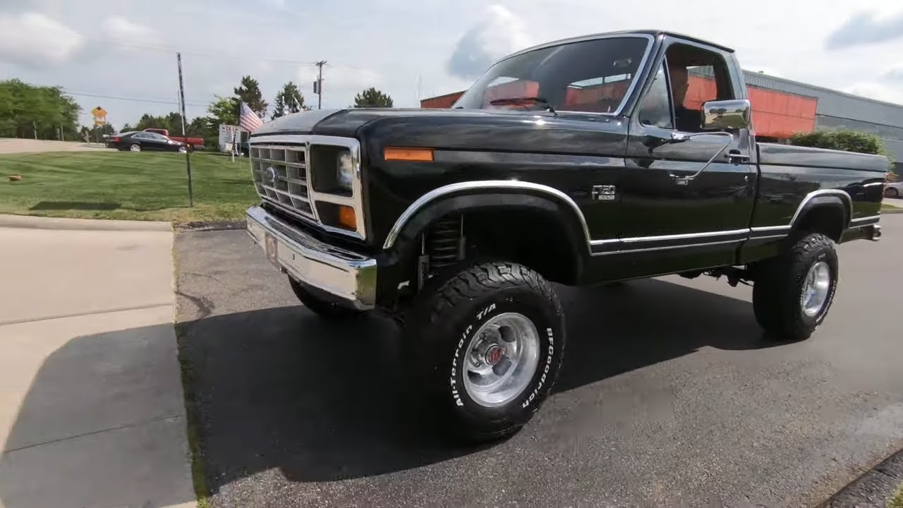 1986 Ford F-150 XLT Lariat For Sale