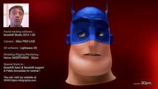 Super Hero faceshift