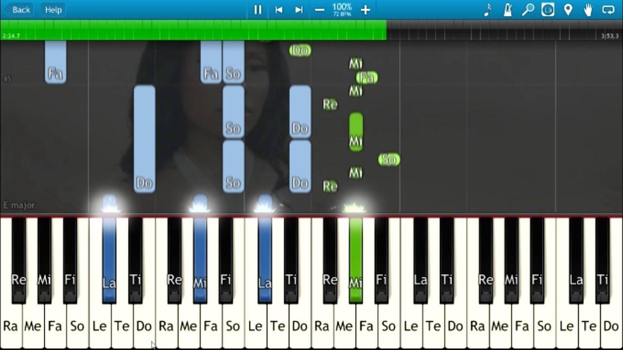Nicki Minaj Grand Piano Synthesia Animation