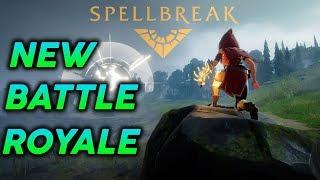 Spellbreak | Finally an INTERESTING Battle Royale!
