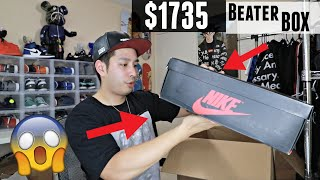 $1735 Sole Supremacy Beater Box | WE GOT SNEAKER GRAILS!!
