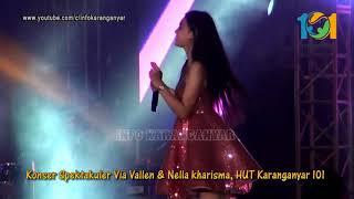Gambar cover Ora Masalah NELA KHARISMA live Karanganyar 101 bareng Via Vallen