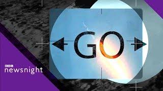 Public Service Broadcasting perform their single Go! - BBC Newsnight / Видео