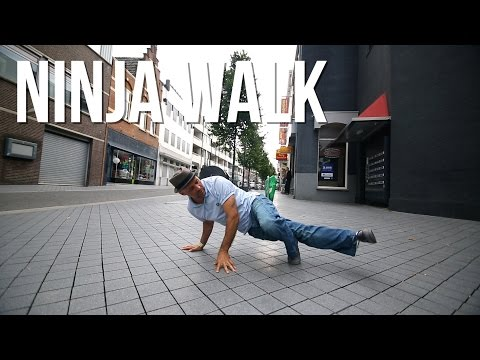 How to Breakdance | Ninja Walk | Storm...