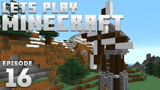 iJevin Plays Minecraft - Ep. 16: COZY WINDMILL! (1.15 Minecraft Let's Play)