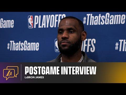 Lakers Postgame: LeBron James (6/3/21)