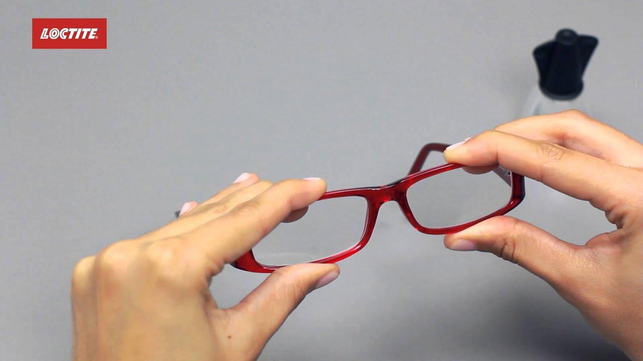 Arreglar unas gafas rotas - YouTube