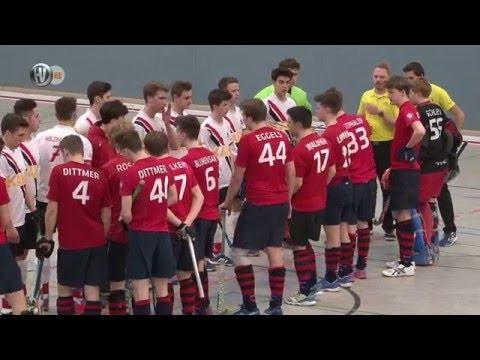 11. Spiel Gruppe B Deutsche Hallenhockey-Meisterschaft männliche Jugend B 2016 Hockeyvideos