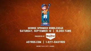 springer bobblehead giveaway on sept 10