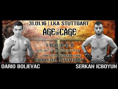 Dario Boljevac vs. Serkan Icboyun | AGE OF CAGE 7 | [MMA Event Stuttgart]