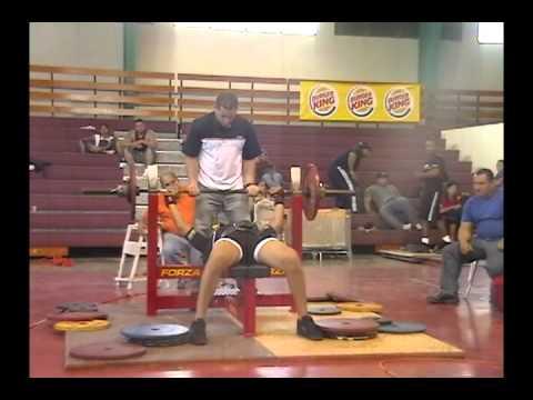 campeonato  nacional 2006 de bench press ponce puerto rico