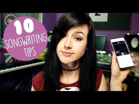 10 Songwriting Tips for Beginners