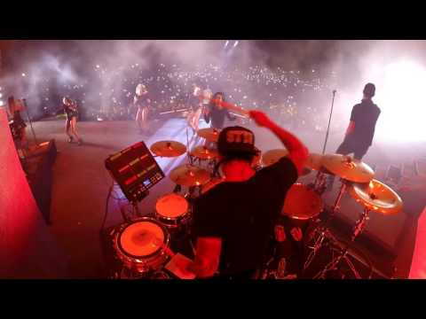 "Carlos Vives, Shakira feat. Maluma - La Bicicleta Remix (Live DrumCam) Miguel Ortiz ""Titi"""
