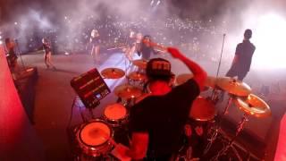 Carlos Vives Shakira Feat. Maluma La Bicicleta Remix Live DrumCam Miguel Ortiz Titi.mp3