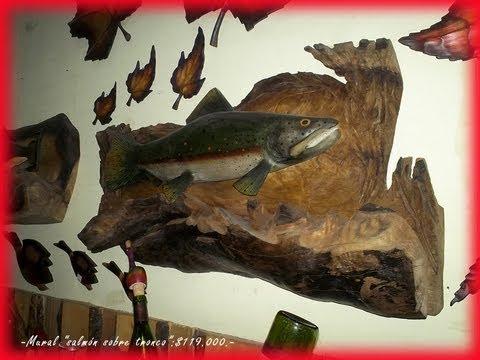 artesano ariel olave madera pucon