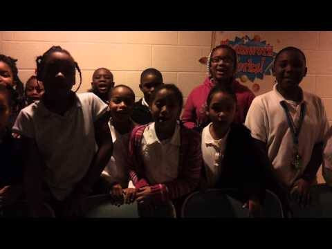 Don't Be A Bully, Be A Buddy! The Academy of Educational Excellence Third and Fourth Graders