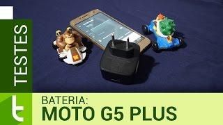 Autonomia do Moto G5 Plus | Teste de bateria oficial do TudoCelular