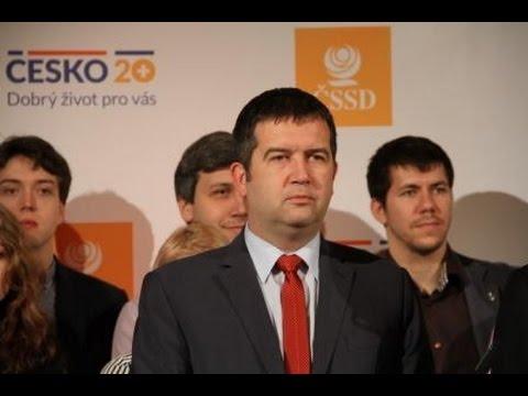 J. Hamáček na tiskové konferenci k představení Česko20+