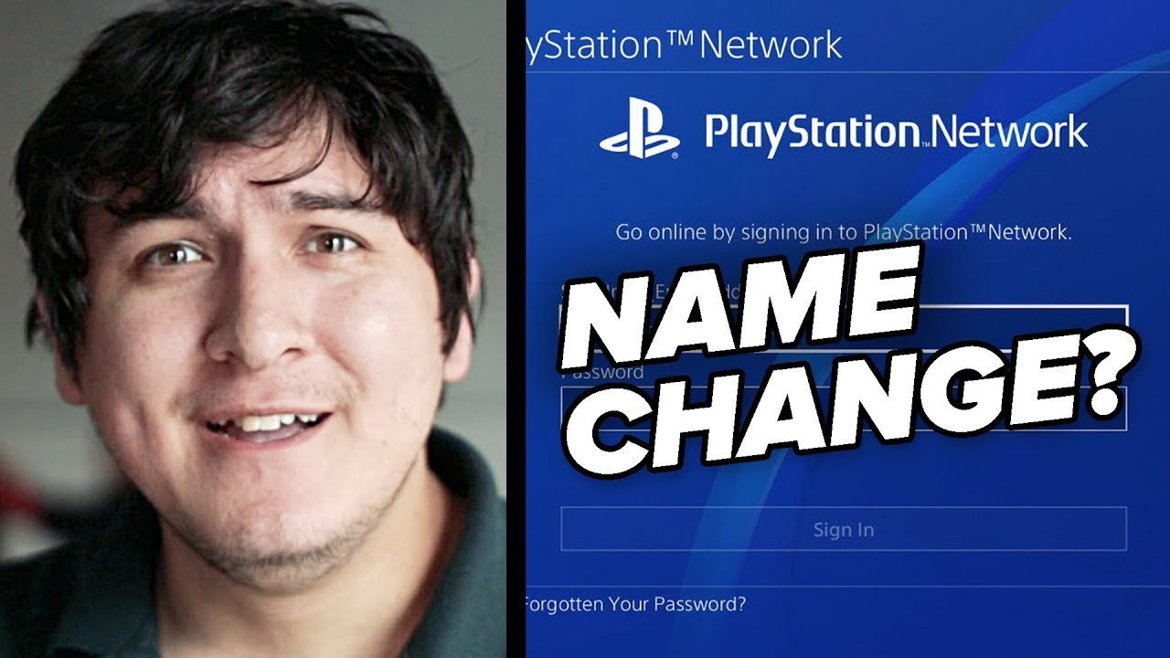 Never Forget When PSN Wouldn't Let Us Change Our Name