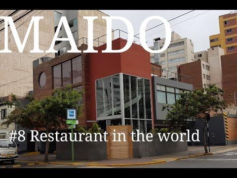 MAIDO Restaurant Lima Peru spectacular set menu