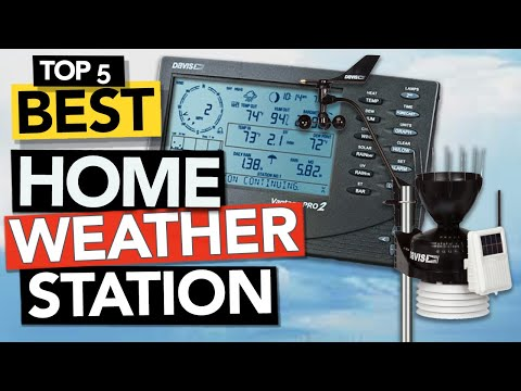 ✅ TOP 5 Best Home Weather Station of 2021 | Budget & Pro