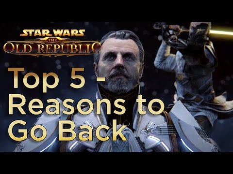 Top 5 – Reasons to Return to Star Wars: The Old Republic