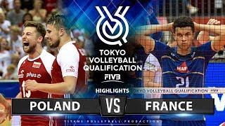 Poland vs France | Highlights Men's OQT 2019