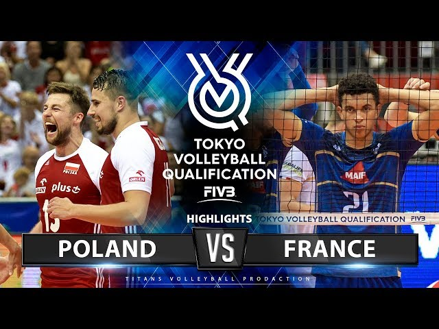 Poland vs France | Highlights Men's OQT 2019