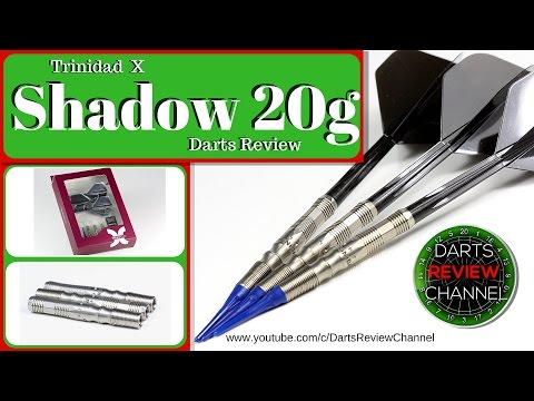 Trinidad X Shadow 20g darts reveiw