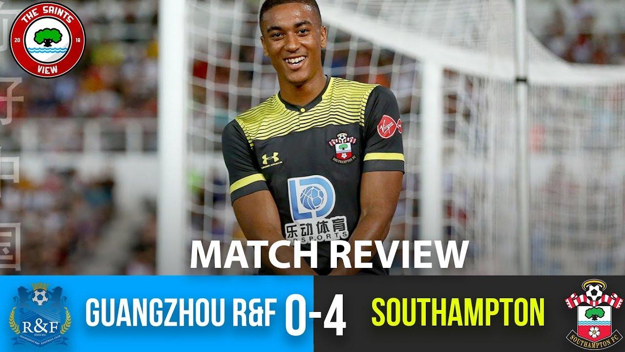 Guangzhou R F 0 4 Southampton Match Review Young Saints Cruise To Victory In Macau