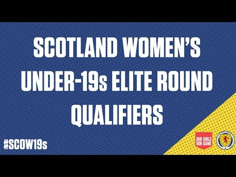 LIVE | Scotland Women's Under-19s v Czech Republic Women's Under-19s