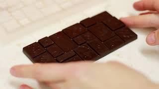 Темперирование шоколада с помощью емкости KADZAMA. Способ №1