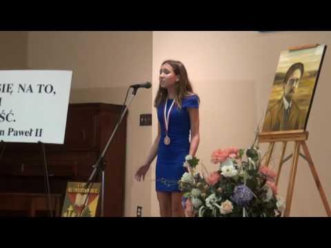 Adriana Serra 13 Lat Wiersz Obietnice Taty Malgorzaty Nawrockiej