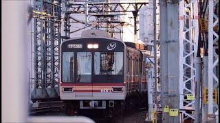 阪急京都・千里線 淡路駅に天下茶屋行きの大阪メトロ66系が到着