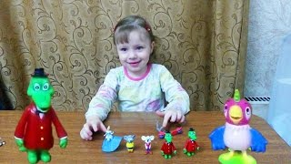 Киндер сюрприз распаковка игрушек Кеша Кот Леопольд Крокодил Гена Kinder Surprise eggs unpacking